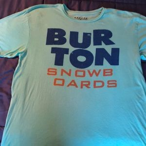Burton Men's Short Sleeve T Mint Green XL